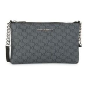 Karl Lagerfeld Paris Charlotte Monogram Crossbody